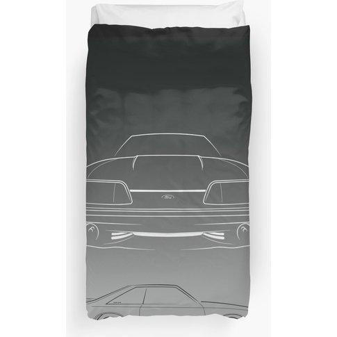1990 Ford Mustang Fox Body - Composite Stencil - Gra...