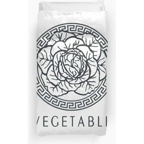 Vegetable ( Versace ) Duvet Cover