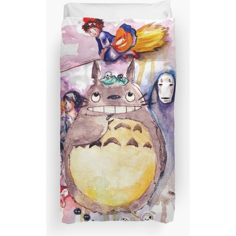 The Amazing Ghibli Duvet Cover