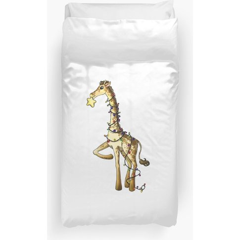 Shiny Giraffe Duvet Cover