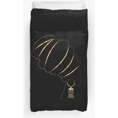 Afro Queen Duvet Cover