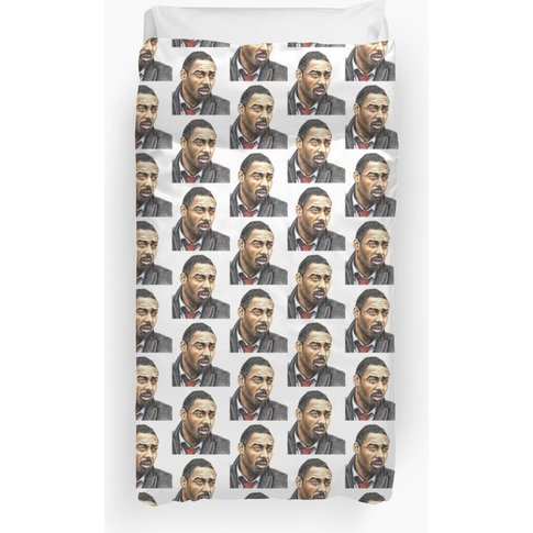 Idris Elba Plays Luther Duvet Cover