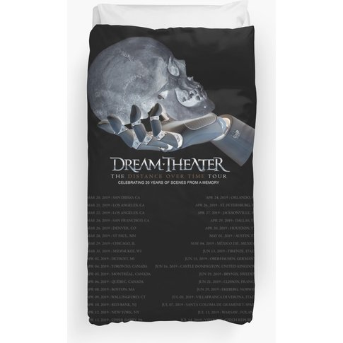 Your Dream Is Like A Theater On A Tour List Duvet Cover