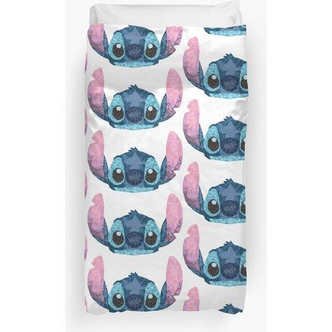 Stitch Geometric (Lilo And Stitch) Duvet Cover