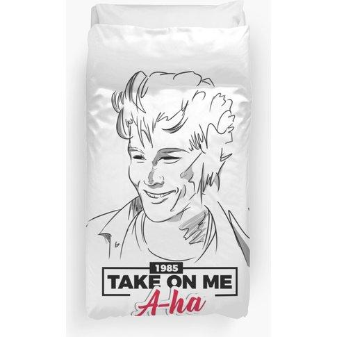 Morten Harket In Take On Me - A-Ha Duvet Cover