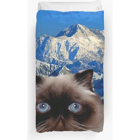 Himalayan Cat  Duvet Cover