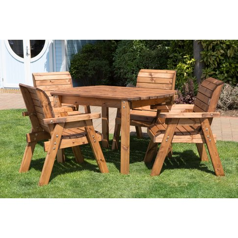 Four Seater Outdoor Table Set - HB12