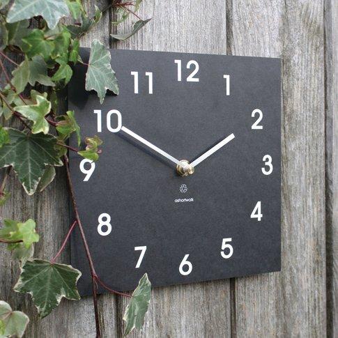 Eco Garden Clock - Square
