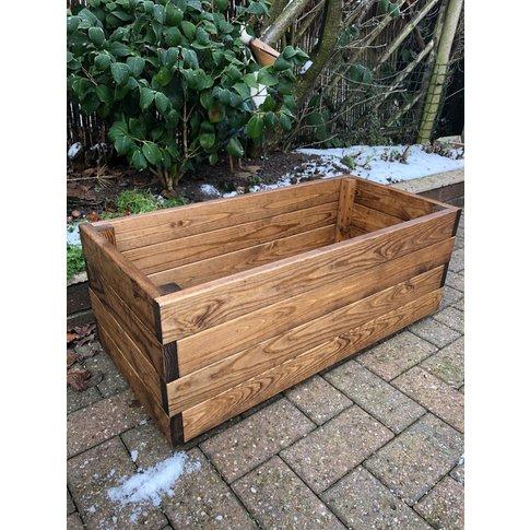 Rectangular Wooden Planter
