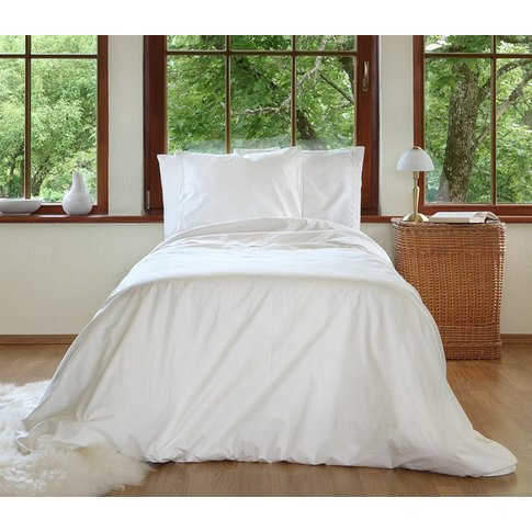 Organic Shabby Chic Duvet Cover-Super King