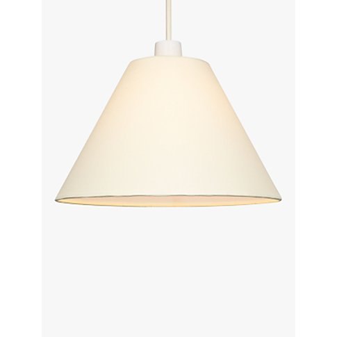 House by John Lewis Mimi Cone Lampshade