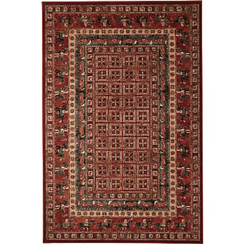 John Lewis & Partners Royal Heritage Pazyrk Rugs, Red