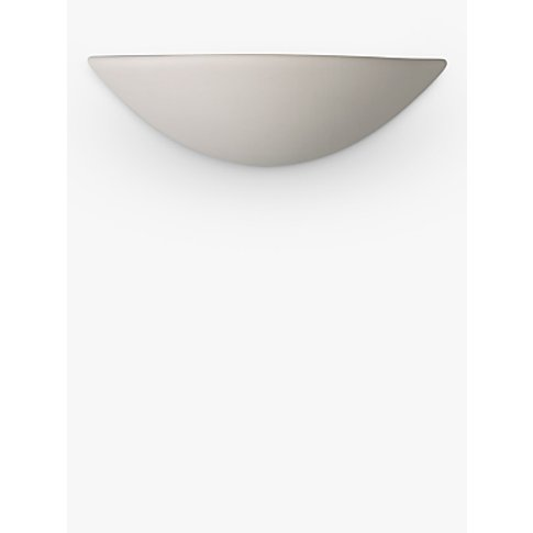John Lewis & Partners Radius Uplighter Wall Light, W...