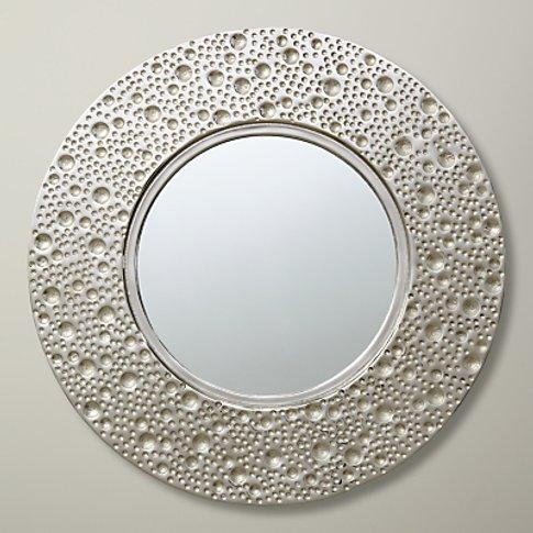 John Lewis & Partners Lunar Round Mirror, Dia.59cm, ...