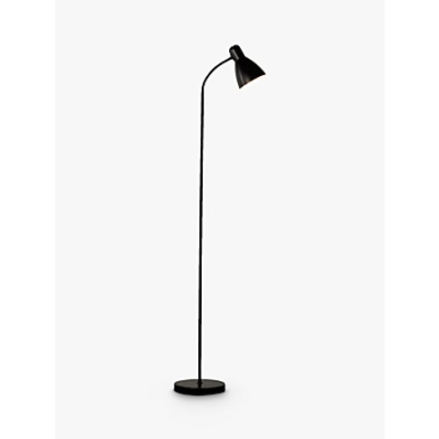 House By John Lewis Brandon Floor Lamp, Black