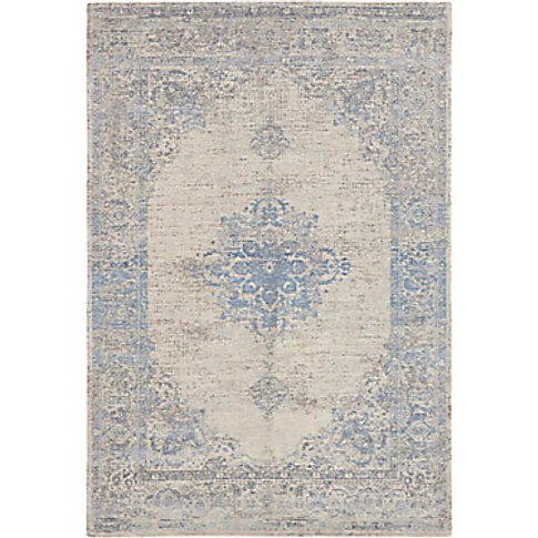 Louis De Poortere Starfield Rug, Soft Blue