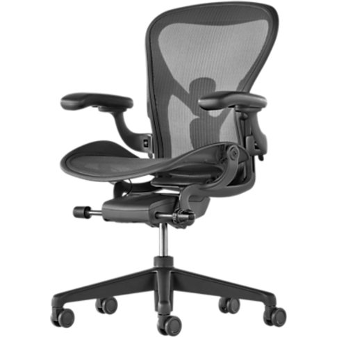 Herman Miller New Aeron Office Chair, Graphite