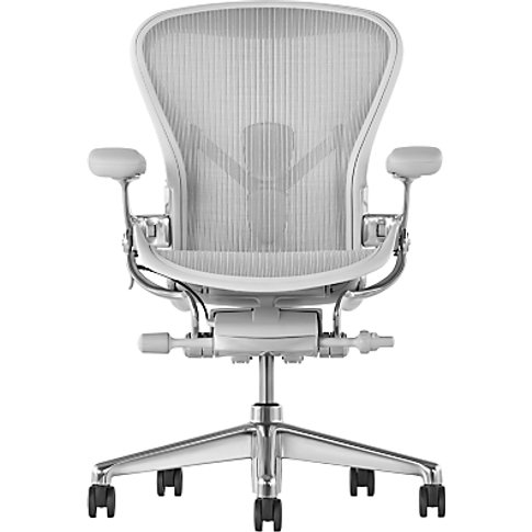 Herman Miller New Aeron Office Chair, Mineral/Polish...