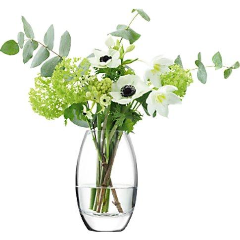 Lsa International Verona Vase, Clear