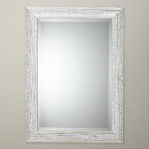 John Lewis & Partners Marina Wood Mirror, Natural