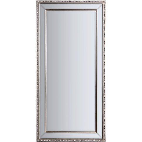 Arnaz Rectangular Mirror, Pewter