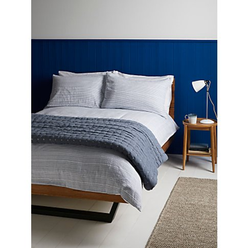 John Lewis & Partners Seersucker Duvet Cover Set, Pa...