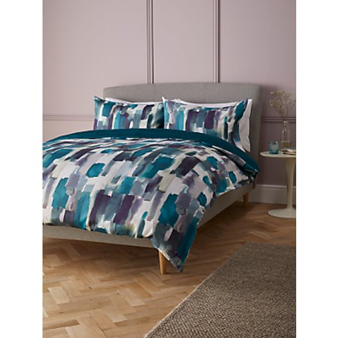 John Lewis & Partners Livia Sateen Duvet Cover Set