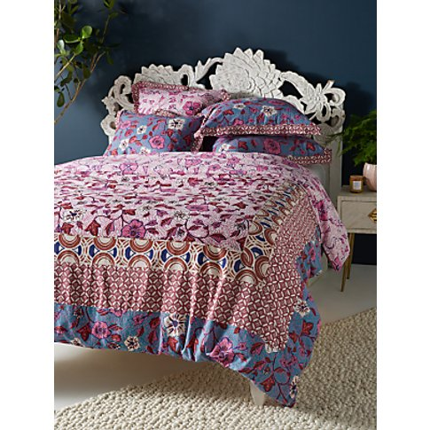Anthropologie Zola Quilted Bedspread, Pink