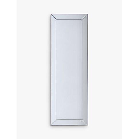 John Lewis & Partners Bevel Simple Glass Frame Mirro...
