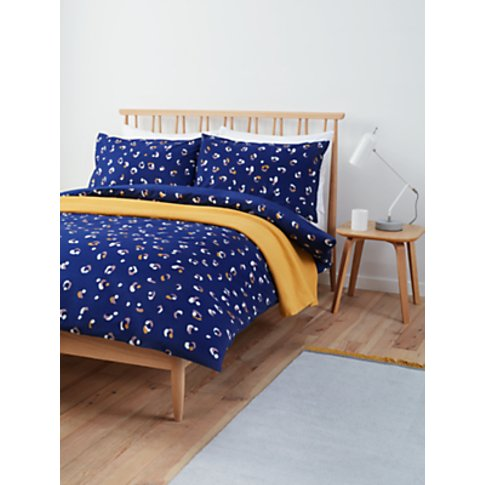 House by John Lewis Leopard Duvet Cover Set