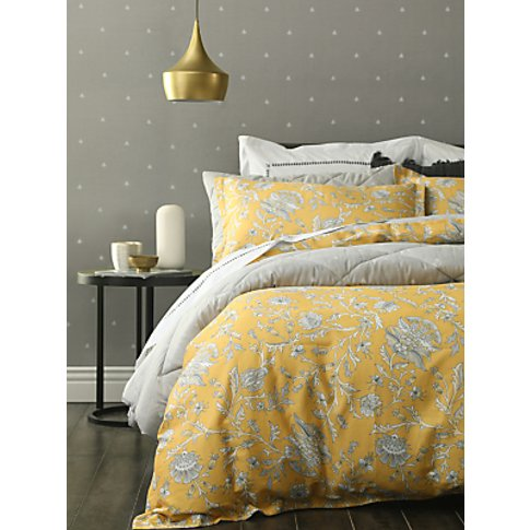 Mm Linen Simone Duvet Cover Set, Yellow