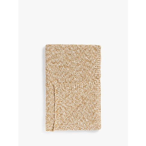 John Lewis & Partners Heavy Knit Throw
