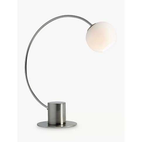 John Lewis & Partners Helium Touch Table Lamp, Chrome