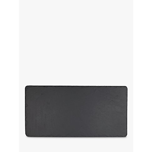 The Just Slate Company Table Runner, Black
