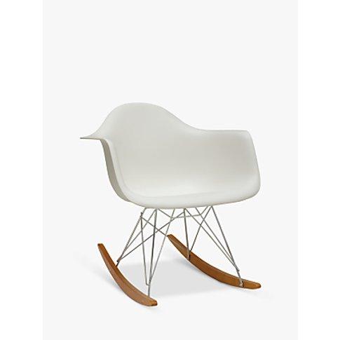 Vitra Eames RAR Rocking Chair, White
