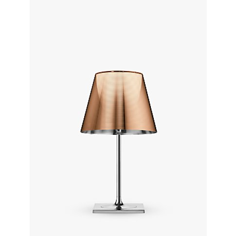Flos K Tribe T2 Pleated Table Lamp, Bronze