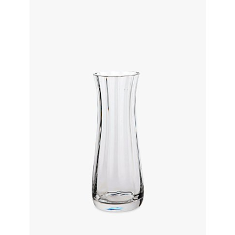 Dartington Crystal Florabundance Narrow Vase, H18.5cm