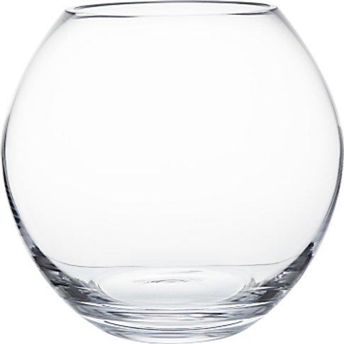 LSA International Flower Bouquet Globe Vase, H22cm