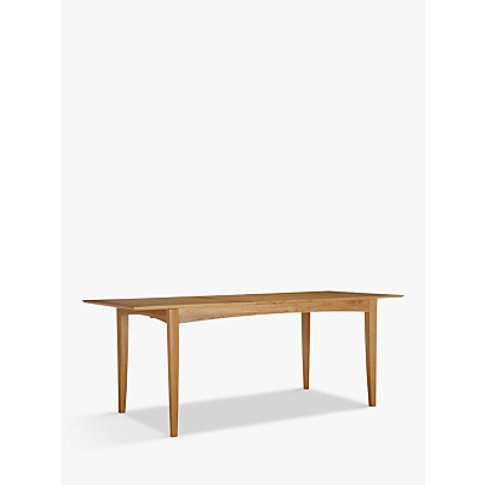 John Lewis & Partners Alba 6-8 Seater Extending Dining Table
