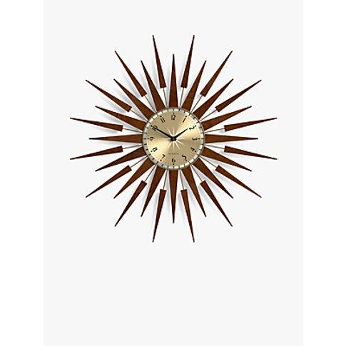 Newgate Pluto Wall Clock, Dia.65cm, Brown