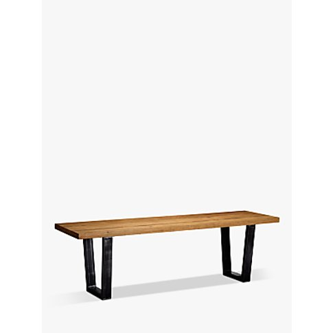 John Lewis & Partners Calia 3-Seater Dining Bench