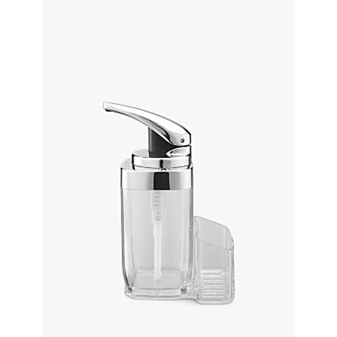 Simplehuman Square Lever Soap Dispenser With Caddy