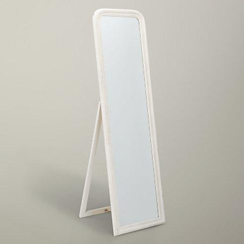 John Lewis & Partners Distressed Cheval Mirror, 170 ...