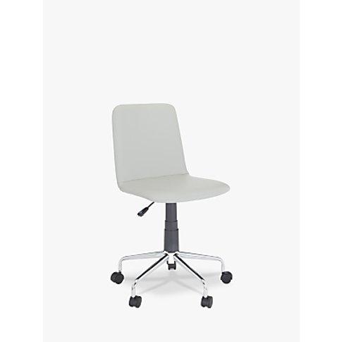 House by John Lewis Nova Office Chair, Grey