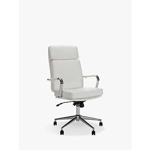 John Lewis & Partners May Office Chair, White