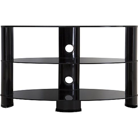 John Lewis & Partners 850 Oval Tv Stand For Tvs Up T...