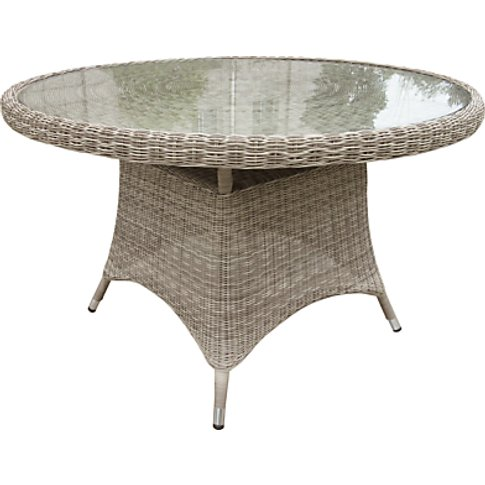 John Lewis & Partners Dante 4-Seat Glass Top Garden ...