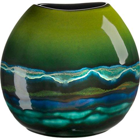 Poole Pottery Maya Purse Vase, H20cm