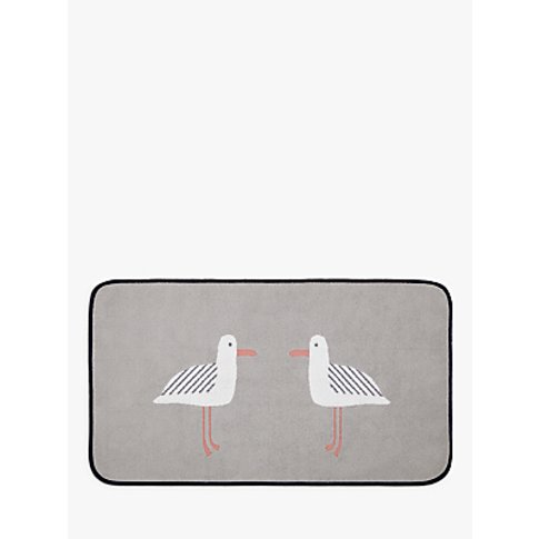 John Lewis & Partners Cheeky Gull Bath Mat
