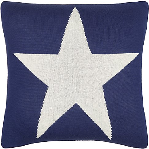 little home at John Lewis Stars & Stripes Cushion, R...
